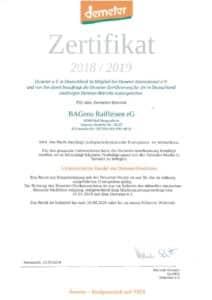 thumbnail of Demeter-Zertifikat 2018_2019
